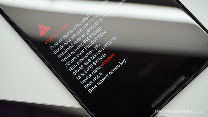 To root Android 11, unlock your phone's bootloader first
