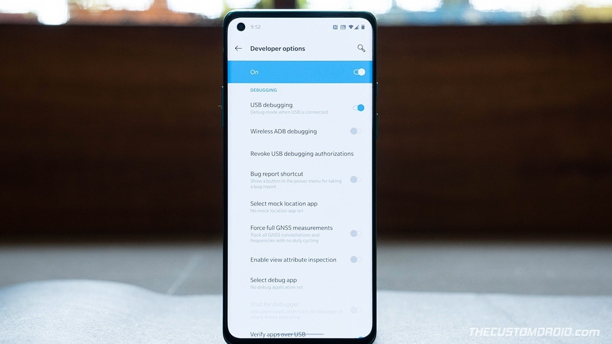 How to Enable Developer Options and USB Debugging on OnePlus Nord