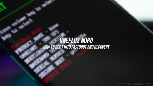 How to Enter Fastboot and Recovery Modes on OnePlus Nord