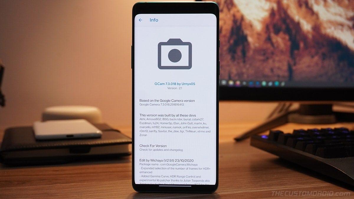 OnePlus 8T Google Camera Port - APK Download & Installation Instructions