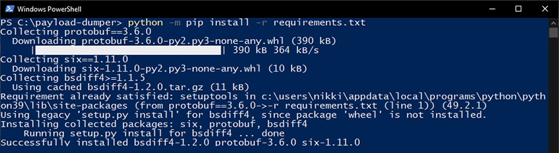 Install Payload Dumper Dependencies