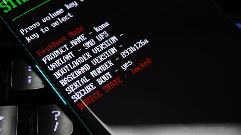 Locked Bootloader on the OnePlus Nord