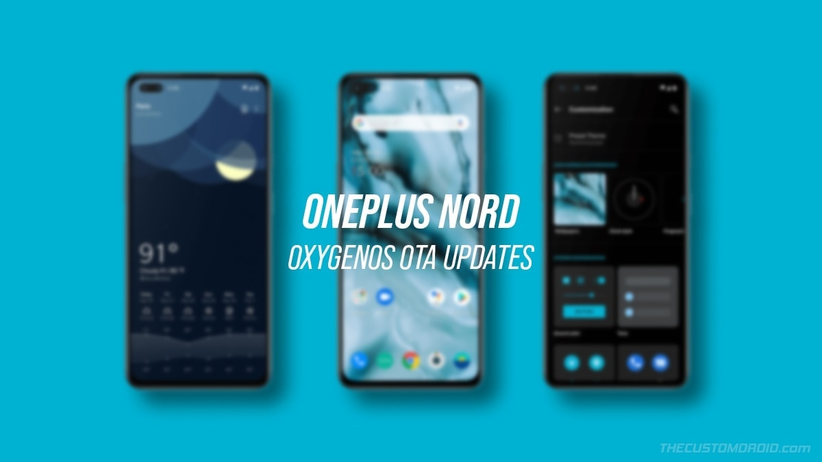 OnePlus Nord OxygenOS OTA Updates Download and Installation Guide