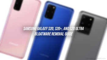 How to Remove Bloatware from Galaxy S20 Series without Root