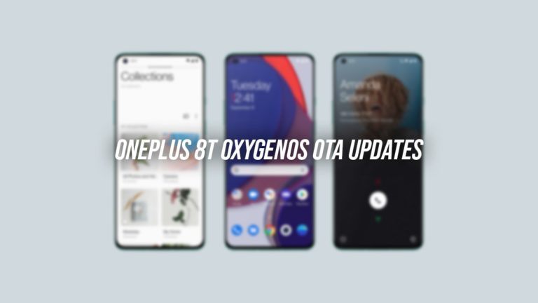 OnePlus 8T OxygenOS OTA Updates Repository and Installation Guide