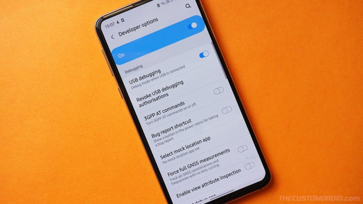 How to enable Developer Options and USB Debugging on Samsung Galaxy S20 series