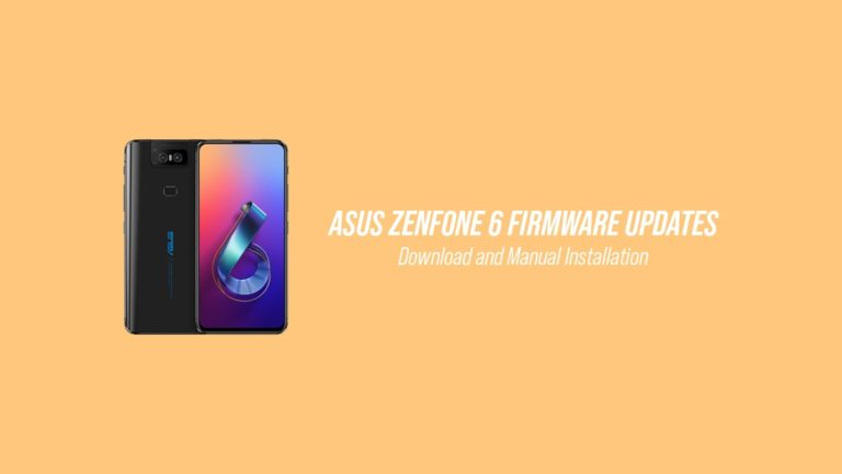 Download Zenfone 6 Firmware OTA Updates and How to Install Them