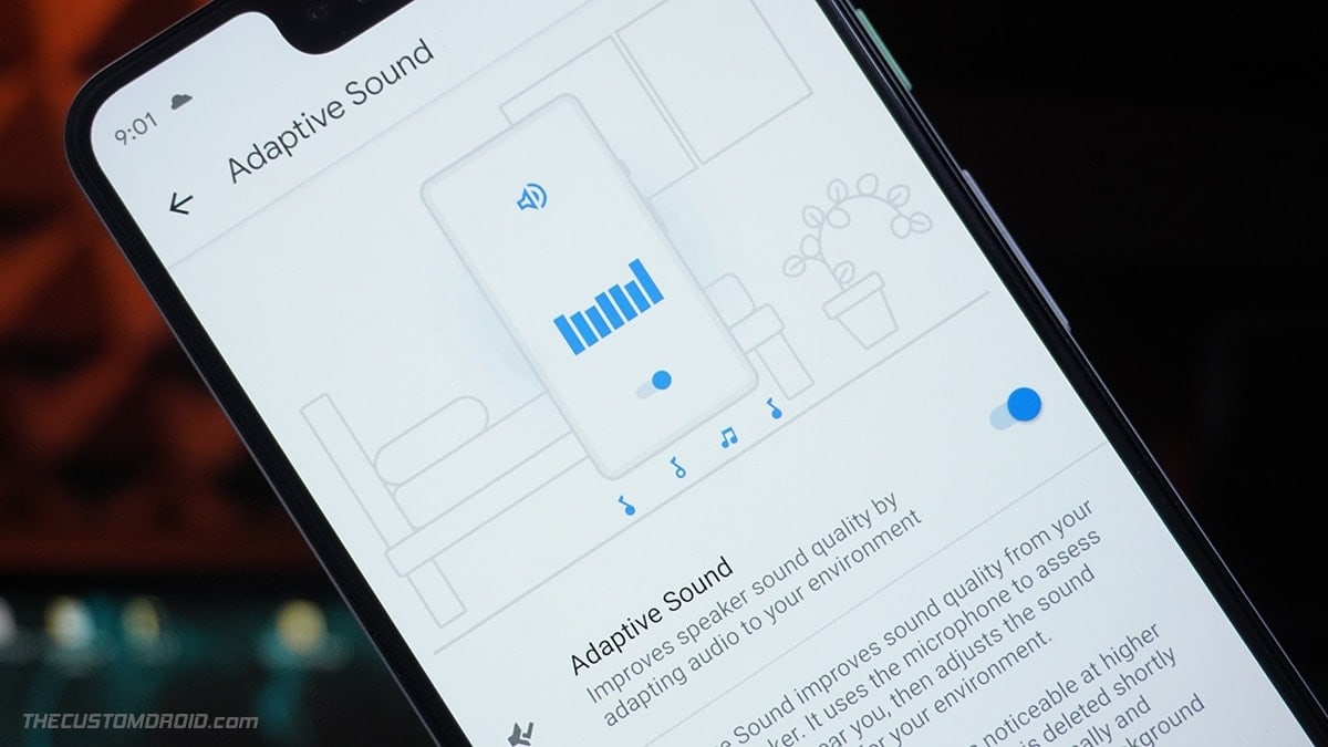 Enable Pixel 5's Adaptive Sound feature on older Pixel phones