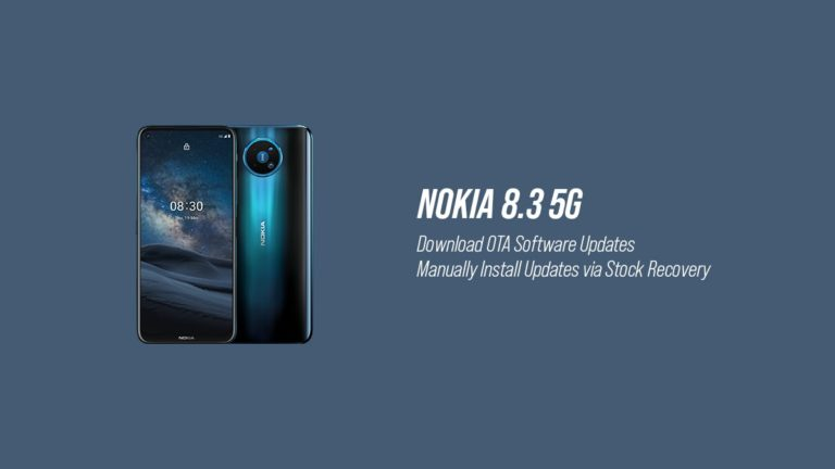 Download Nokia 8.3 OTA Software Updates and Installation Guide
