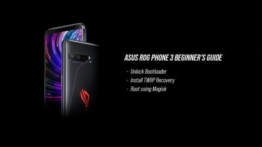 How to unlock bootloader, install TWRP, and root Asus ROG Phone 3