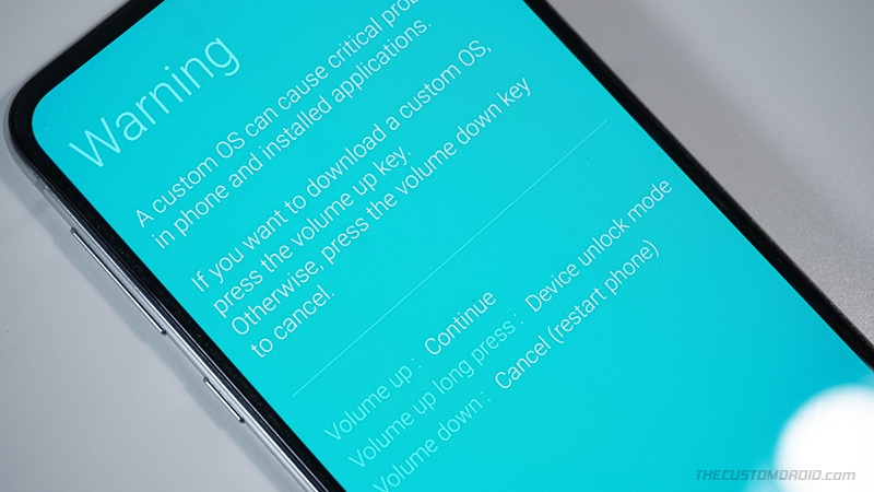 Device Unlock Mode on Samsung Galaxy devices