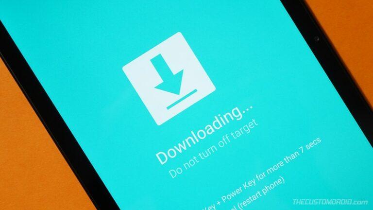 Samsung Galaxy Download/Odin Mode
